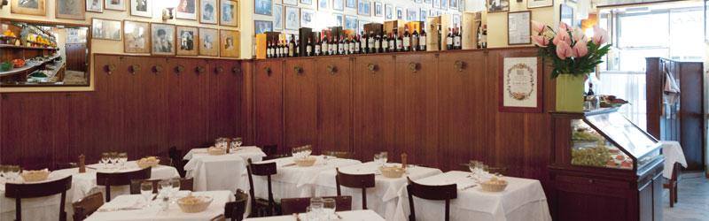 a Santa Lucia, the restaurant