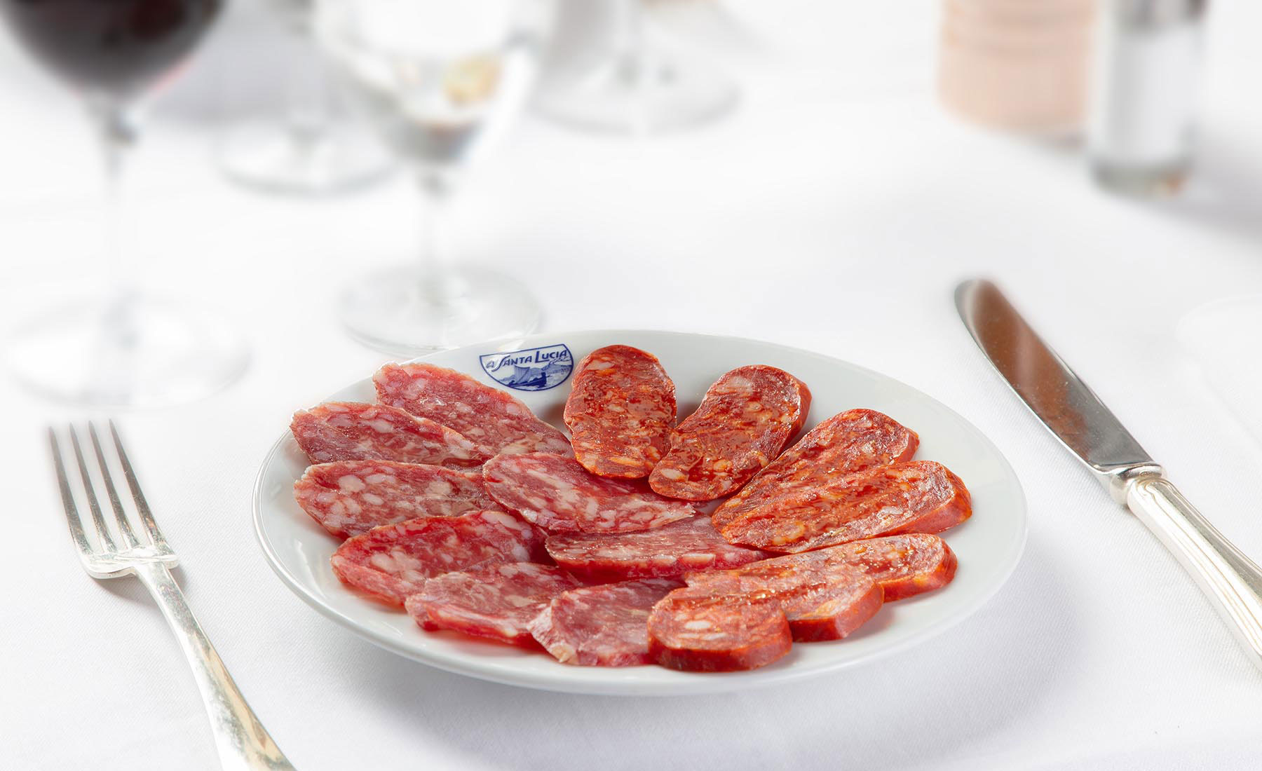 Salame di Felino e salsiccia Napoletana