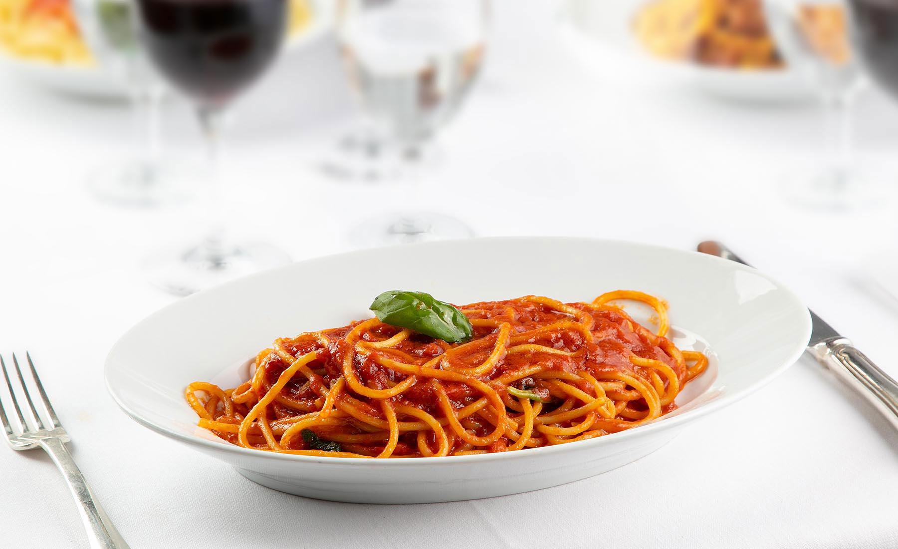 Spaghetti strascicati