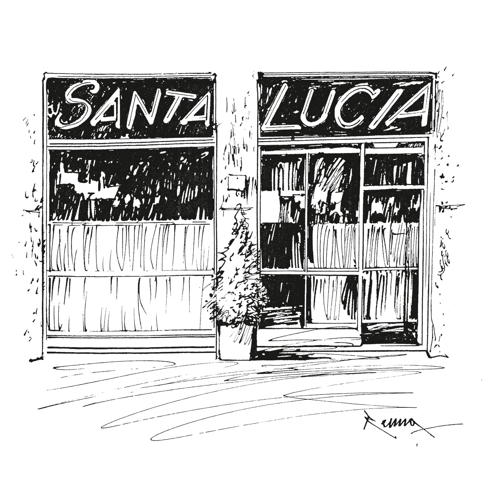 A Santa Lucia