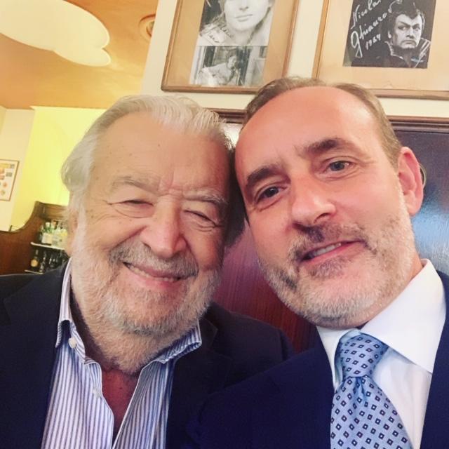 Pupi Avati con Fabio Cortesi