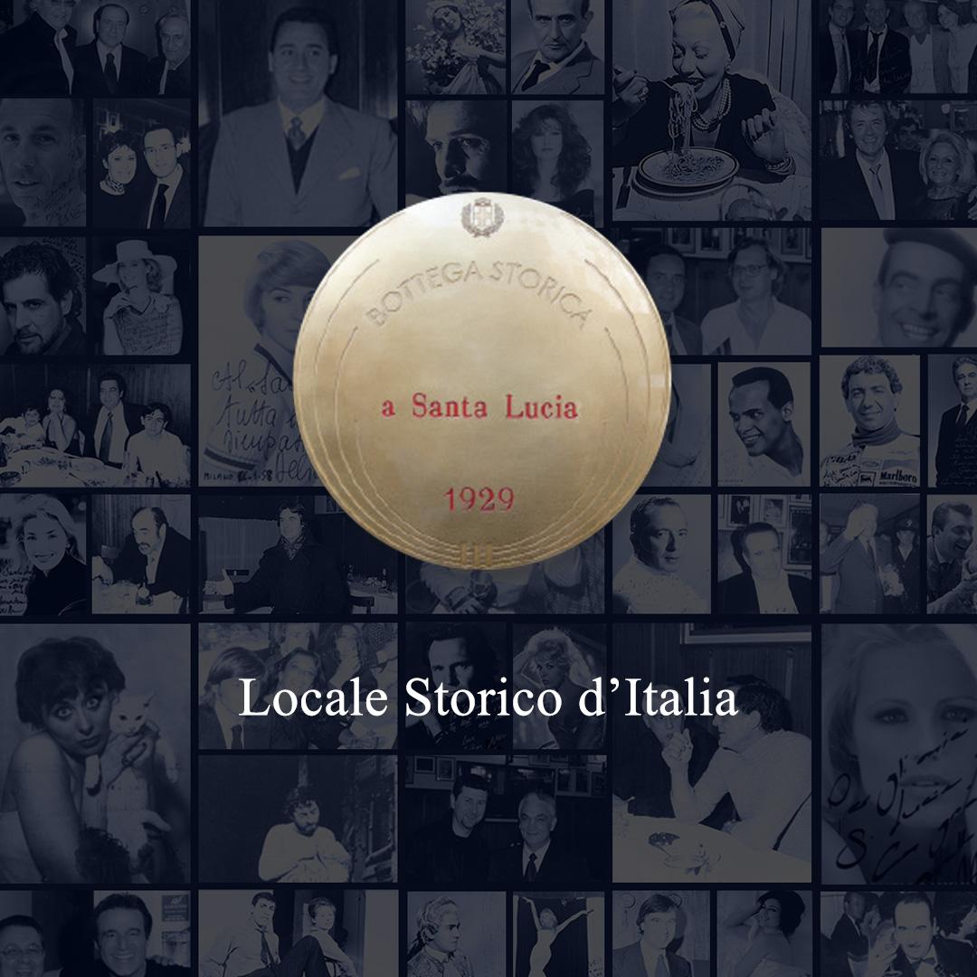 Targa Locale Storico d'Italia